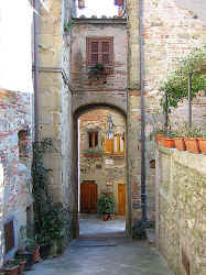 historical town centre of Anghiari