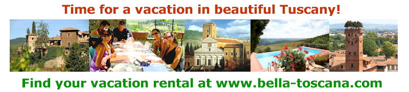 Vacation accommodations in Tuscany